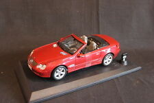 Bauer / Maisto Mercedes-Benz SL-Class Cabriolet 1:18 Red with light & Sound (JS)