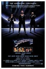 classic movie poster SUPERMAN christopher REEVE margot KIDDER 1978 24X36 hot
