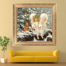 5D Diamond Painting Embroidery Cross Craft Stitch Home Decor Cute Angel Girl Pop