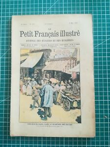 rr310 1904 Petit Français illustré journal écoliers écolières Ed. A Colin N°225