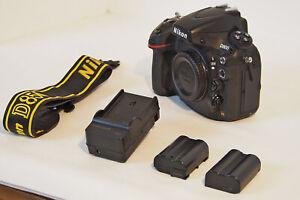 Nikon D800 36.3MP Digital SLR Camera - Black Read