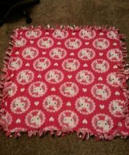 Hello Kitty Fleece Tie Blanket