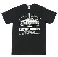 KATZ'S DELI NEW YORK RESTAURANT Pastrami Foodie NYC Men's T-Shirt Tee Small NEW