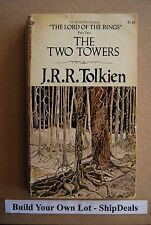 J.R.R. Tolkien The Two Towers 1974 Printing *ShipDeals* LOTR Part 2 Build-A-Lot