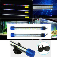 Submersible LED Light Bar Lamp Color RGB White Blue for Aquarium Fish Tank Decor