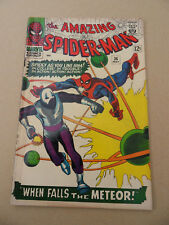 Amazing Spider-Man 36 . S.Ditko .1st App . Looter .  Marvel 1966 . VG - minus