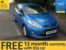 Fiesta 3 Doors 50,000 to 74,999 miles Vehicle Mileage Cars