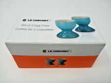 Pair of Le Creuset Egg Cups Brand New Boxed