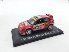 toyota corolla wrc rossi-cassina monza 2004   n69/70 1/43 voitures de rallye