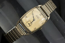 Elgin De Luxe 10K Gold Filled Men's Wrist Watch 17 Jewels
