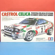 Tamiya 1/24 Toyota Celica GT-4 93 Monte-Carlo Rally Winner CASTROL CELICA #24125
