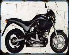 Buell M2 Cyclone 4 A4 métal signe Moto Vintage Aged