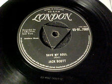 JACK SCOTT~Goodbye Baby/Save My Soul~1958 Rockabilly/R&R UK LONDON Tri-Center 45