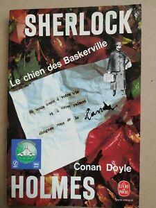 Conan Doyle - Sherlock Holmes : Le Chien des Baskerville /Le Livre de Poche,1956