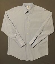 Brooks Brothers Blue French Cuff Long Sleeve Men' Shirt Sz 17-34 Egyptian Cotton