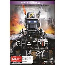 CHAPPIE Hugh Jackman & Sigourney Weaver(DVD, 2015) NEW