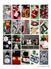 Crochet Pattern Magazine Book HANDMADE HOLIDAYS ~ Crochet World October 2017