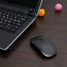 BLACK WIRELESS CORDLESS 2.4GHz MOUSE USB DONGLE OPTICAL SCROLL FOR PC LAPTOP MAC