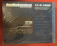 AudioControl LC-6.1200 1200W RMS 6-Channel Class-D LC Series Car Amplifier D