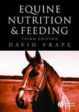 Equine Nutrition and Feeding by Frape, David