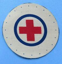 ROYAL  NAVY <>   OLD  NAVY    printed  MEDICS  (red cross)  BADGE  <>  UNUSED