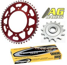 Honda CR 80 1986-2002 Chain Sprocket Set 13T 49T Red