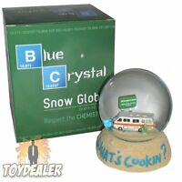 Breaking Bad What´s Cookin Blue Meth Snow Globe Weihnachten Schneekugel OddCo
