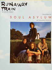 Soul Asylum: Runaway Train (Piano/Vocal/Guitar Sheet Music) - OUT OF PRINT, MINT