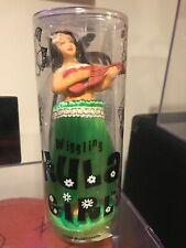 """Wiggling Hula Girl 7"""" Dashboard Dancer Ukulele Lei Grass Skirt Hawaii F38"""