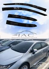For Toyota Corolla Sedan 2020- Window Visor Vent Sun Shade Rain Guard Door Visor