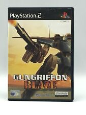 GUNGRIFFON BLAZE PlayStation 2 PAL SHOOTER Robot MECH GAME ARTS Complete PS2