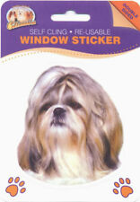 West Highland Terrier Dog Self Cling Re-usable Window Sticker N2