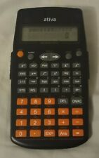 Ativa 2-Line Display Scientific Calculator At-30i W/Built-in Stand,Ag13 Battery
