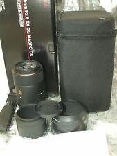 SIGMA 105mm F2.8 DG MACRO EX OS HSM PRIME LENS f SIGMA NEW in FACTORY BOX & CASE