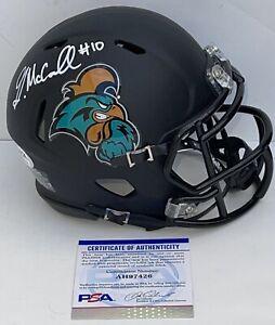 Grayson McCall Signed Autographed Coastal Carolina Chants Mini Helmet PSA/DNA