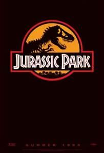 "Jurassic Park 11""x17"" Movie Poster - Licensed   New   Style B"