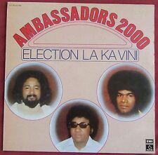 AMBASSADORS 2000  LP ORIG FR  ELECTION LA KA VINI  CHARLY PENTIER