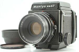【NEAR MINT】 Mamiya RB67 Pro + SEKOR NB 127mm F3.8 + 120 Film Back From JAPAN