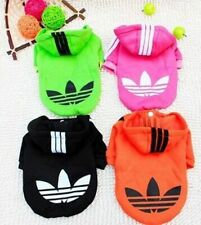 Hooded Sweatshirt Dog Cat Clothes Warm Hoodie Coat Jacket New Small Dogs or Cats