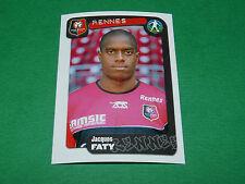 N°307 FATY STADE RENNAIS RENNES ROAZHON PANINI FOOT 2005 FOOTBALL 2004-2005