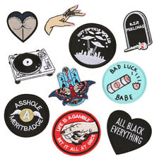 Funny Butt Embroidered Patches Fabric Stickers Jeans Cap Hat Crafts Applique DIY