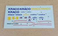 AMT 1/25 1989 #18 ANDRETTI MARCH 88C KRACO SPECIAL CART INDY CAR DECAL SHEET