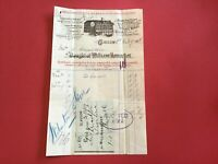 Blythswood Sausage Works Charing Cross 1904  Illustrated receipt R33079