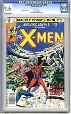 Amazing Adventures Vol 2  #2  CGC  9.6  NM+  White pgs  1/80 Bob Budinansky cove
