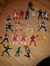 Lot Of  Power Rangers Action Figures