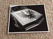 1970s Pontiac  Trans AM original file copy 8X10 black an white photo