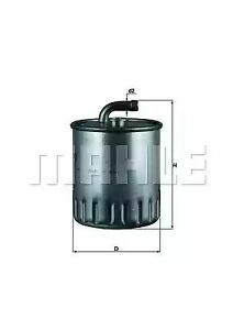 Fuel Filter KL179 78799116 by MAHLE ORIGINAL - Single