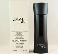 Armani Code Cologne by Giorgio Armani T 2.5 oz Eau de Toilette for Men 75ml