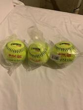 Worth Protac Hotdog Classic Plus Softballs, 3 Pack, Brand New
