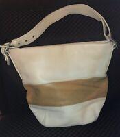 COACH Rugby Stripe Bucket Shoulder Bag#9173